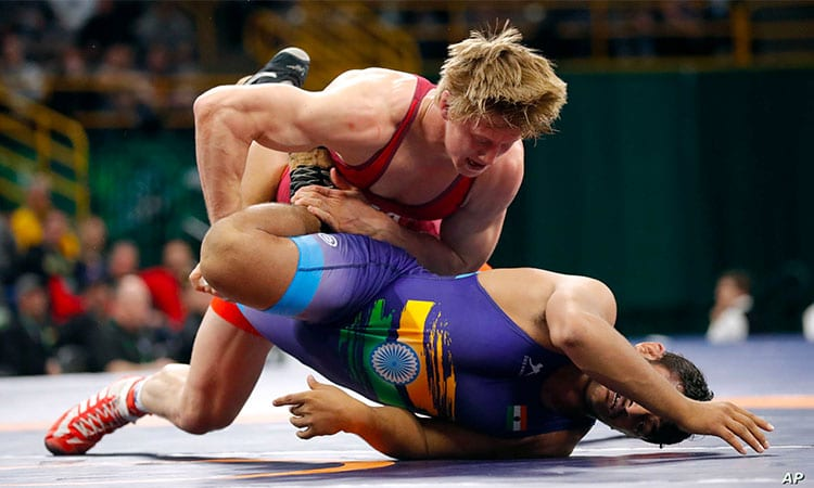 Freestyle Wrestling as you Martial Art
