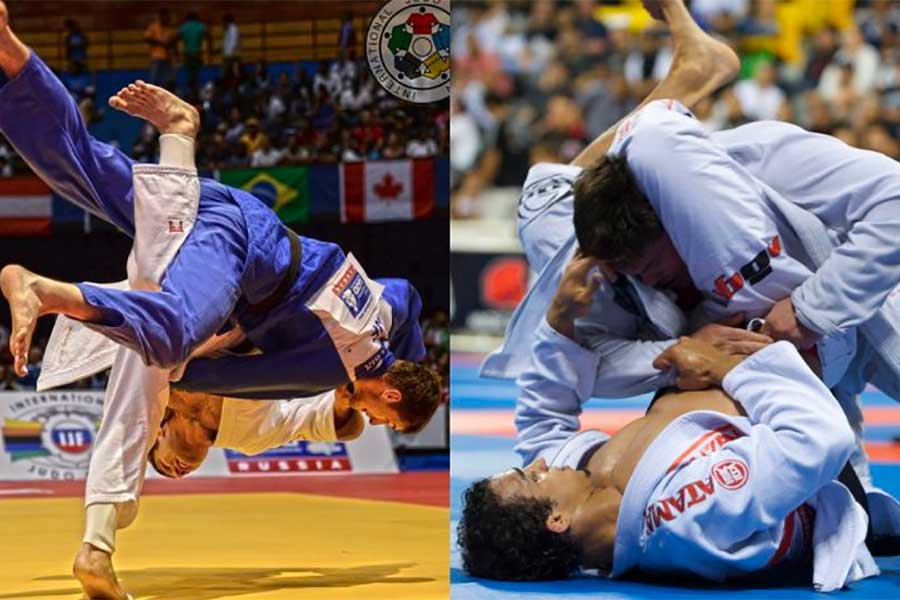 What's The difference Between Judo And BJJ