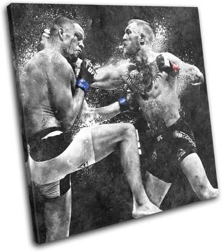 Diaz vs. McGregor Poster